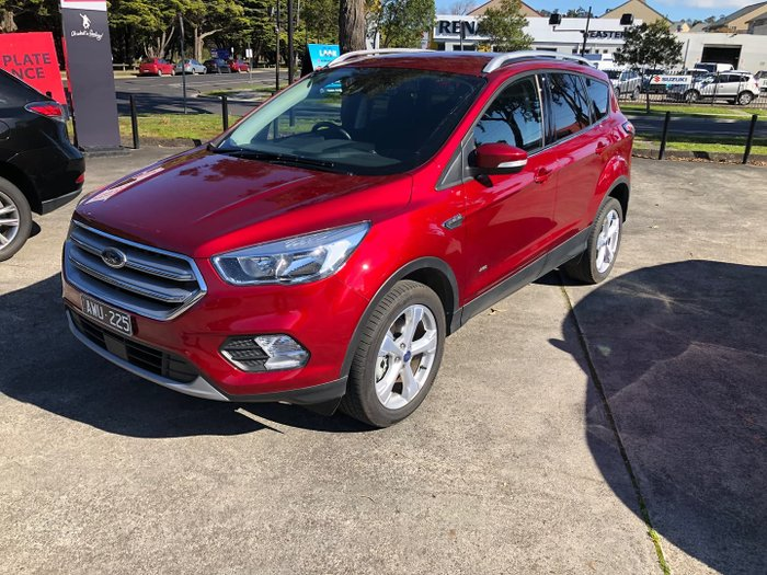 2018 Ford Escape Trend ZG MY19.25 AWD Ruby Red