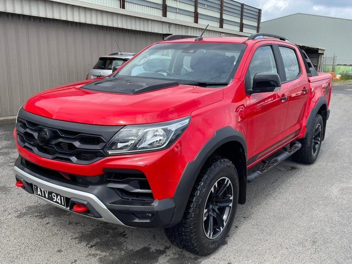 2018 Holden Special Vehicles Colorado SportsCat+ RG MY18 4X4 Dual Range Absolute Red
