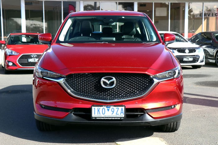 2017 Mazda CX-5 GT KF Series AWD Soul Red Crystal