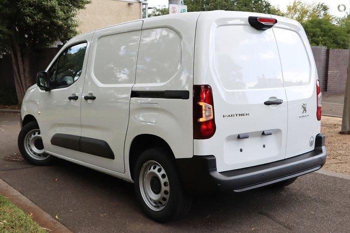 2021 Peugeot Partner 130 THP K9 MY20 White