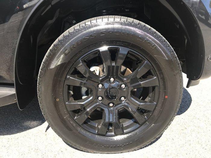 2019 Ford Ranger XLT PX MkIII MY19 4X4 Dual Range Black