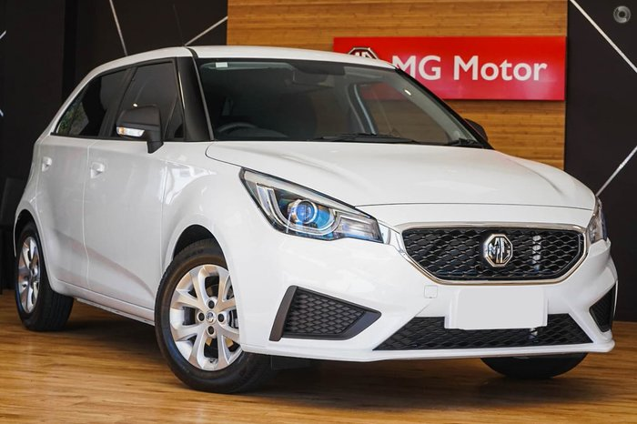 2021 MG MG3 Core (Nav) MY21 White