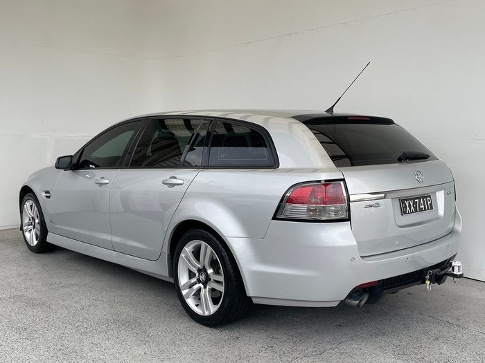 2010 Holden Commodore SV6 VE MY10 Silver