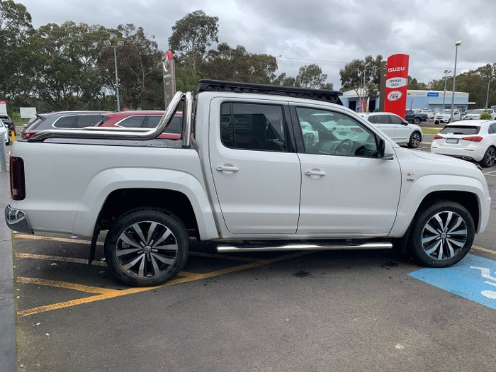 2018 Volkswagen Amarok TDI580 Ultimate 2H MY19 4X4 Constant Candy White