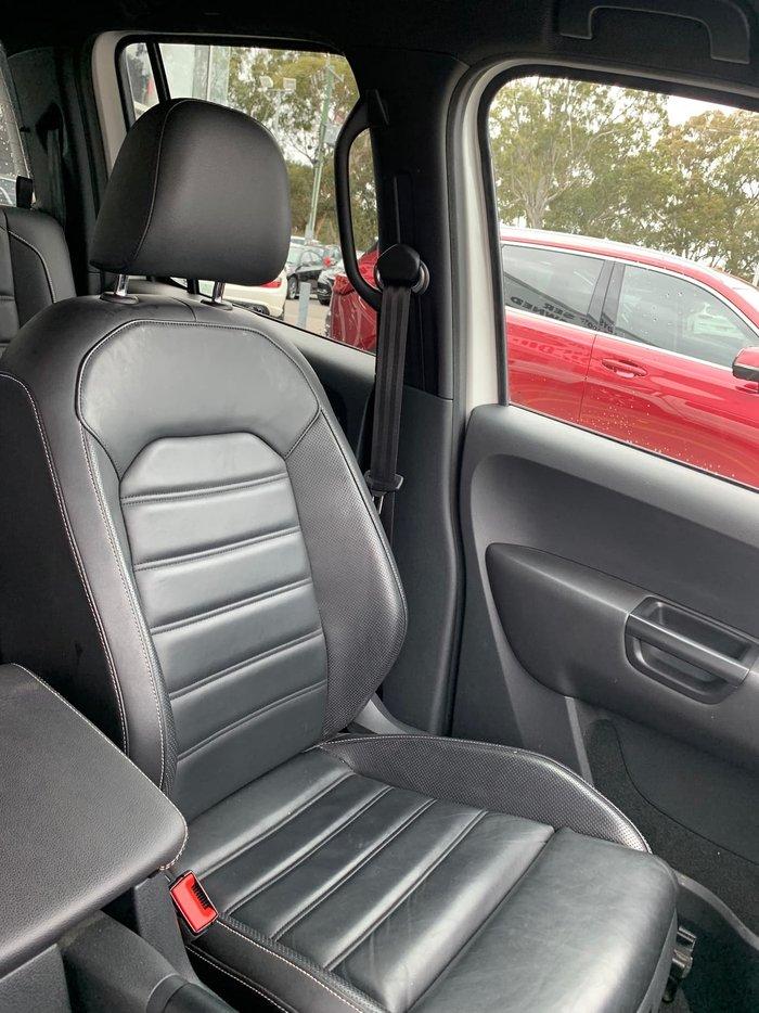 2018 Volkswagen Amarok TDI580 Ultimate 2H MY19 4X4 Constant White