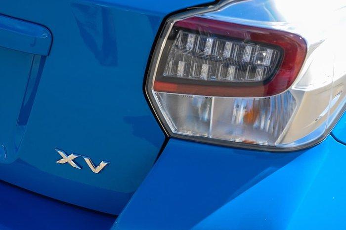 2016 Subaru XV 2.0i G4X MY16 AWD Blue