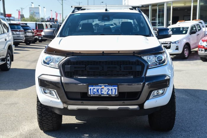 2017 Ford Ranger Wildtrak PX MkII 4X4 Dual Range White