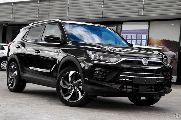 2021 SsangYong Korando Ultimate C300 MY21 Black