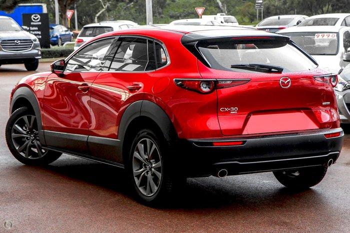 2021 Mazda CX-30 G25 Astina DM Series AWD Soul Red Crystal