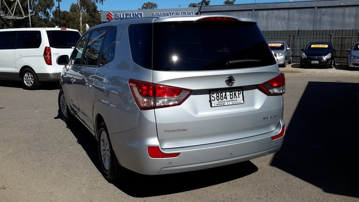 2015 SsangYong Stavic A100 MY14 Silver