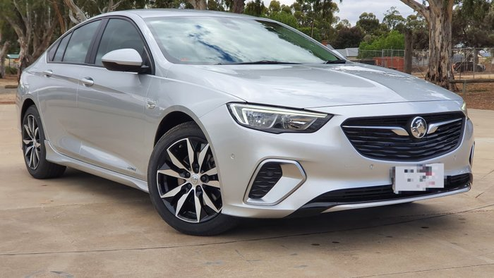 2018 Holden Commodore RS ZB MY18 AWD Nitrate Silver