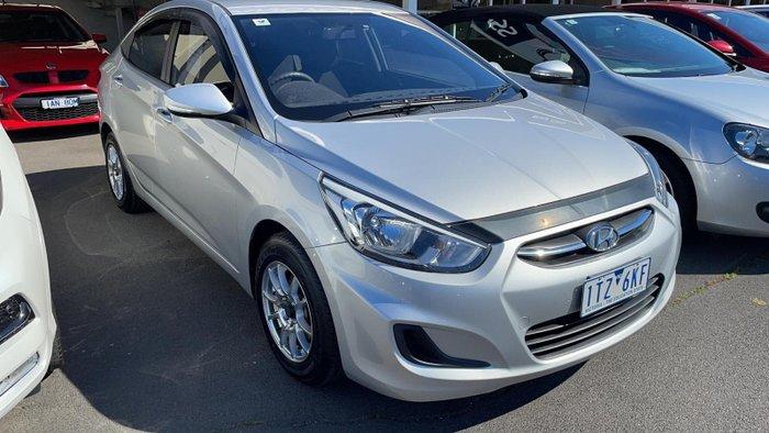 2016 Hyundai Accent Active RB3 MY16 Sleek Silver