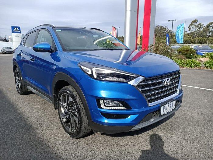 2019 Hyundai Tucson Highlander TL3 MY20 AWD Blue