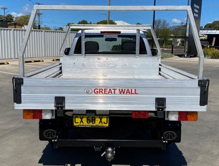 2019 Great Wall Steed CC K2 MY18 Silver
