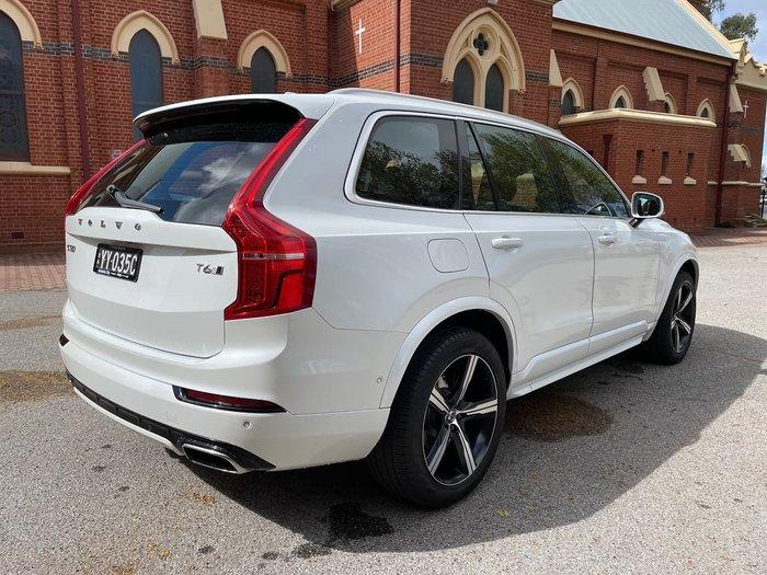 2015 Volvo XC90 T6 R-Design MY16 AWD White