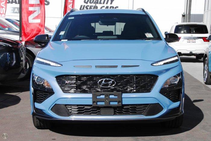 2021 Hyundai Kona N-Line OS.V4 MY21 AWD Blue