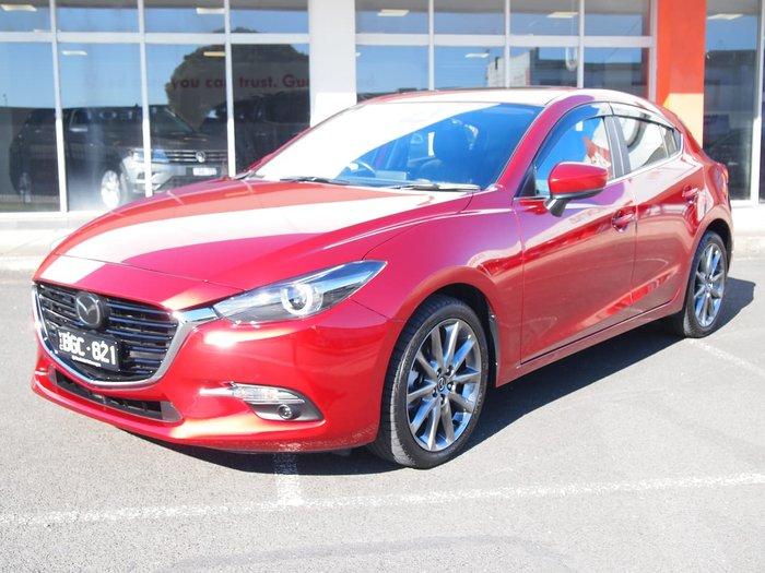 2018 Mazda 3 SP25 Astina BN Series Red