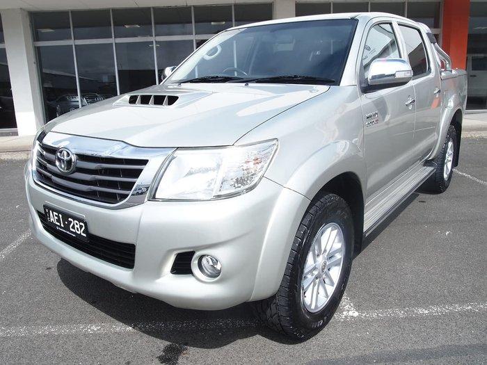 2014 Toyota Hilux SR5 KUN26R MY14 4X4 Dual Range Gold