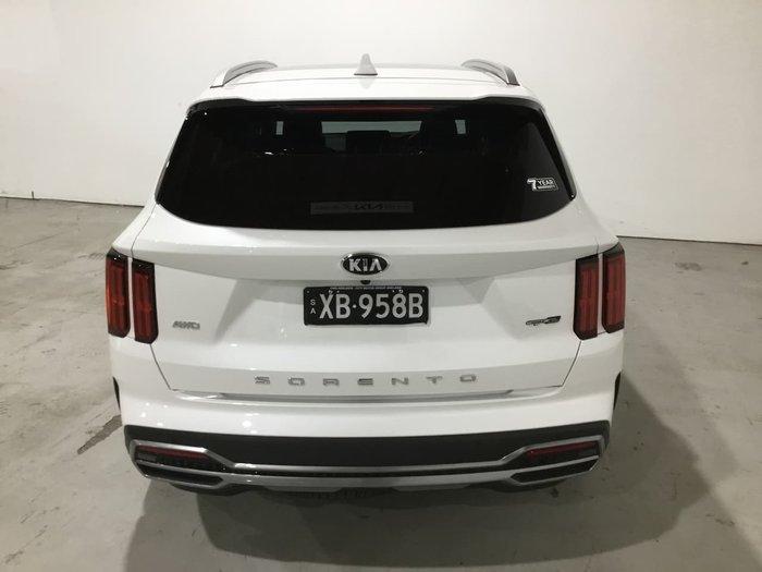 2021 Kia Sorento GT-Line MQ4 MY21 AWD White