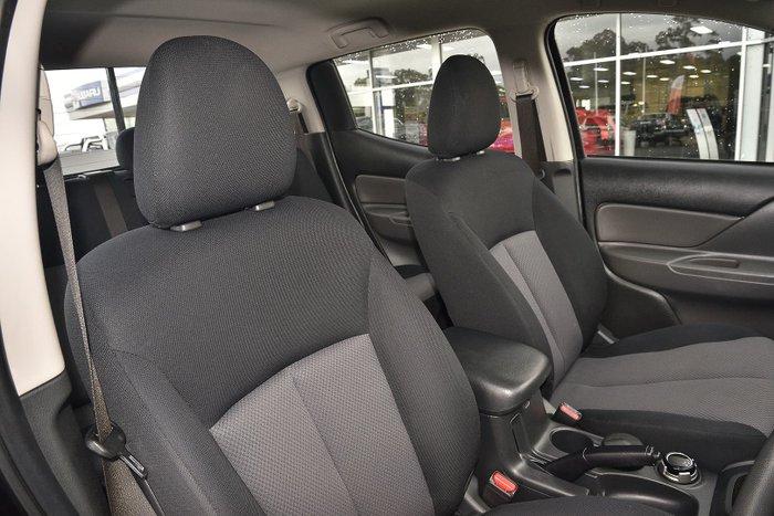 2015 Mitsubishi Triton GLX MQ MY16 4X4 Dual Range Black
