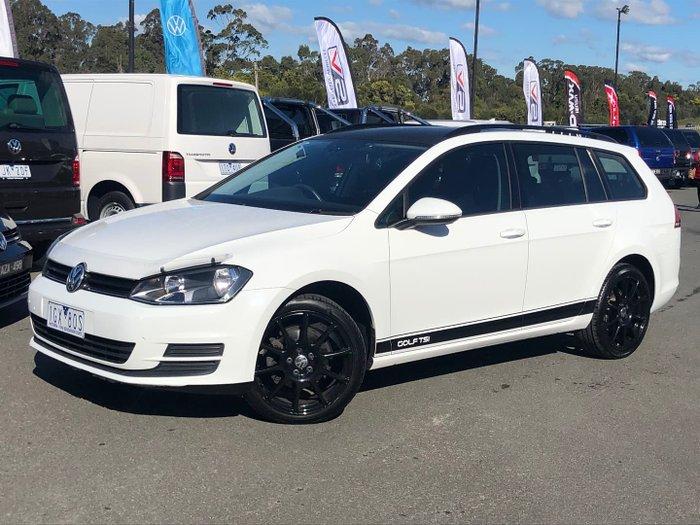 2015 Volkswagen Golf 90TSI Comfortline 7 MY15 Pure White
