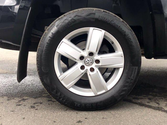 2017 Volkswagen Amarok TDI550 Highline 2H MY17.5 4X4 Constant Deep Black
