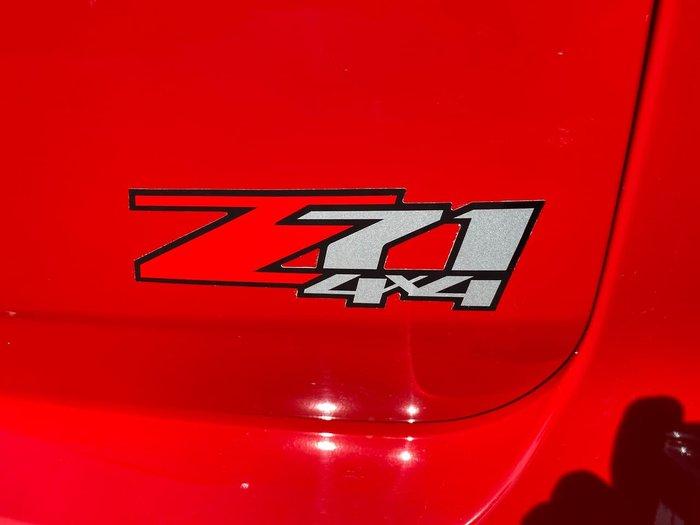 2017 Holden Trailblazer Z71 RG MY18 4X4 Dual Range Red