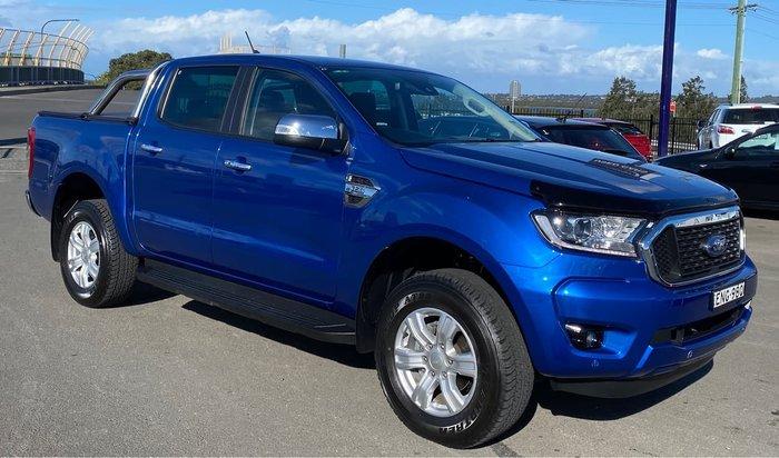 2021 Ford Ranger XLT PX MkIII MY21.25 4X4 Dual Range Blue