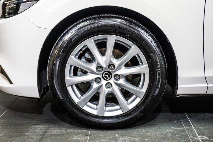 2017 Mazda 6 Touring GL Series White