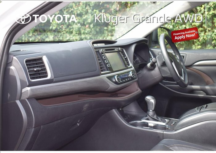 2019 Toyota Kluger Grande GSU55R AWD White