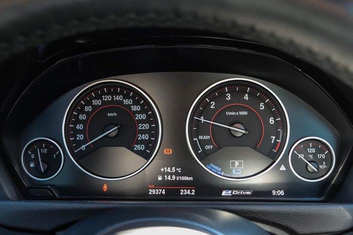 2016 BMW 3 Series 330e Sport Line F30 LCI Red