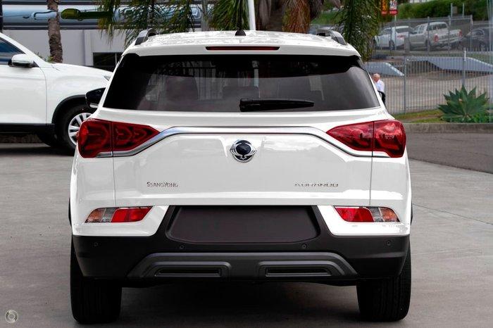 2021 SsangYong Korando Ultimate C300 MY21 White