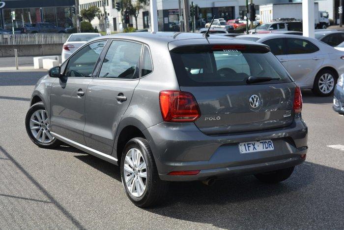 2015 Volkswagen Polo 81TSI Comfortline 6R MY16 Pepper Grey