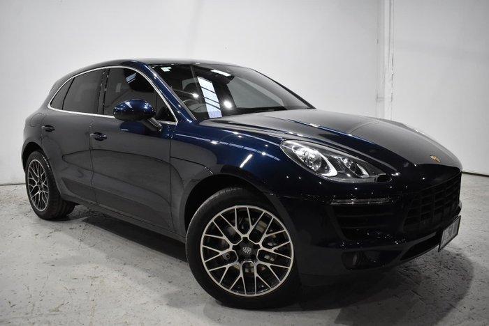 2017 Porsche Macan S 95B MY17 AWD Blue
