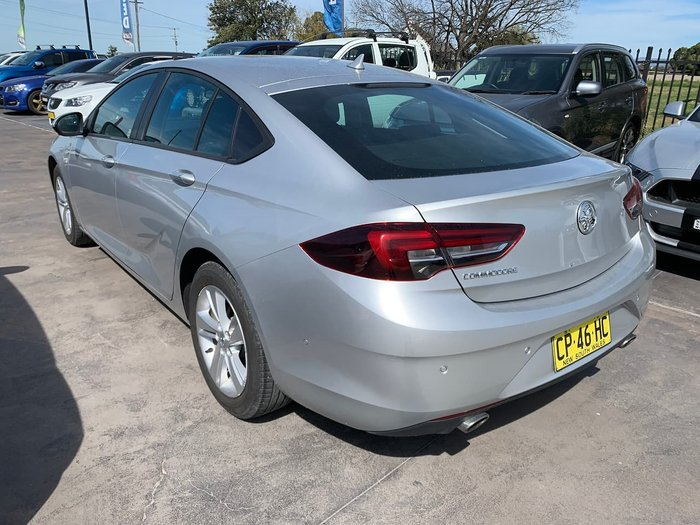 2017 Holden Commodore LT ZB MY18 Silver