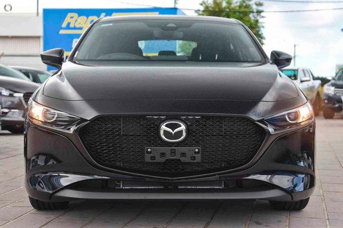 2021 Mazda 3 G20 Pure BP Series Black