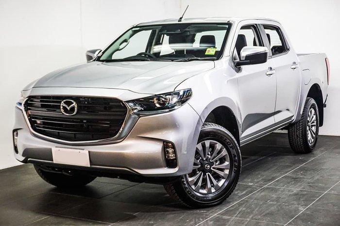 2020 Mazda BT-50 XT TF 4X4 Dual Range Silver