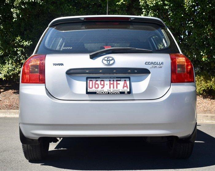2003 Toyota Corolla Ascent ZZE122R Silver