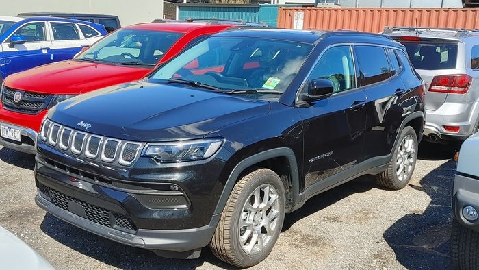 2021 Jeep Compass Launch Edition M6 MY21 Drive Type: Brilliant Black