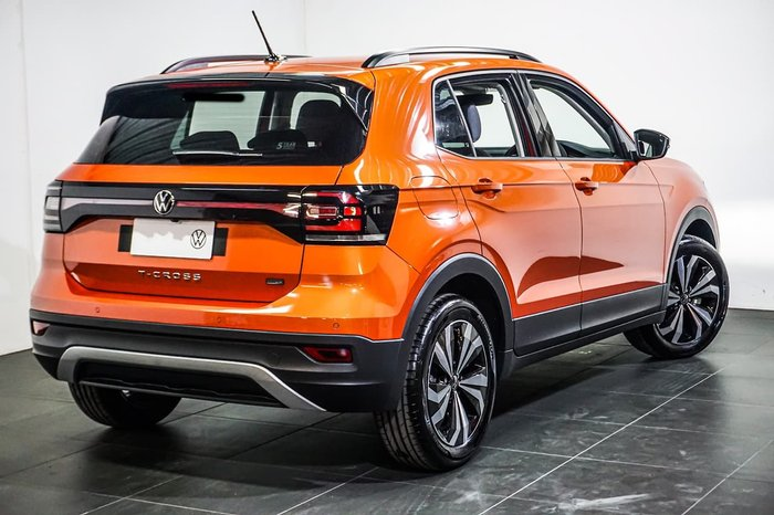 2021 Volkswagen T-Cross 85TSI CityLife C1 MY21 Orange