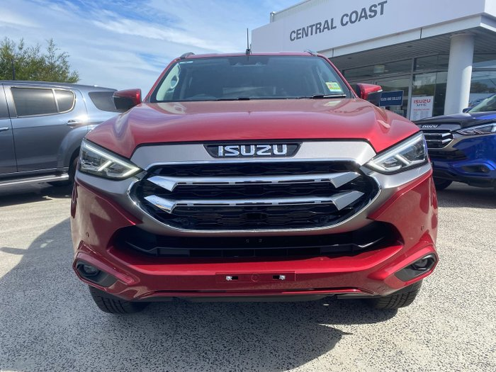 2021 Isuzu MU-X LS-U MY21 4X4 Dual Range Magnetic Red