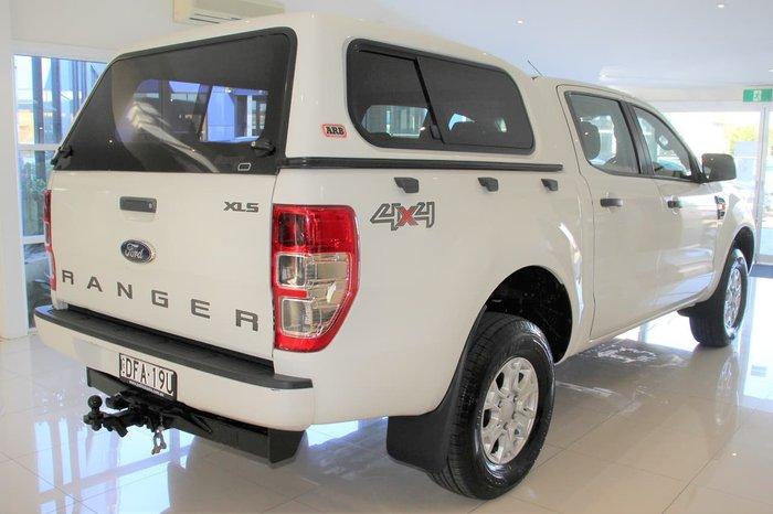 2016 Ford Ranger XLS PX MkII 4X4 Dual Range White