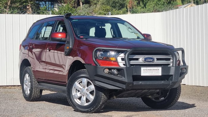 2018 Ford Everest Ambiente UA MY18 4X4 Dual Range Red