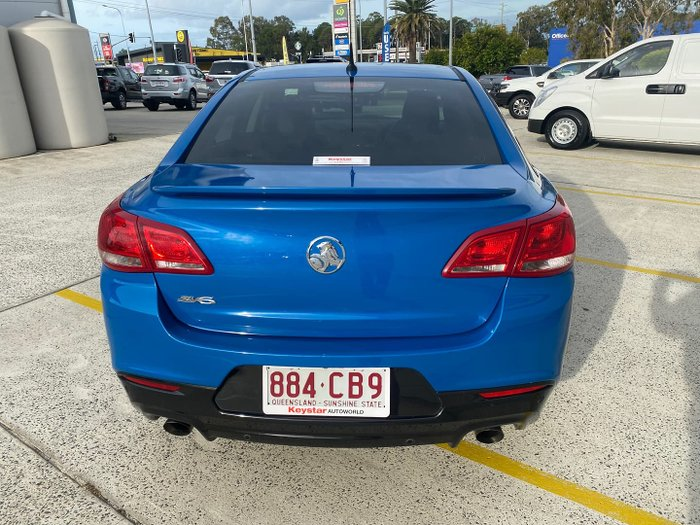 2015 Holden Commodore SV6 Storm VF MY15 Perfect Blue