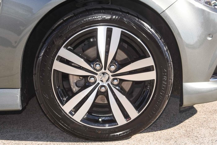 2015 Holden Commodore SV6 Storm VF MY15 Prussian Steel