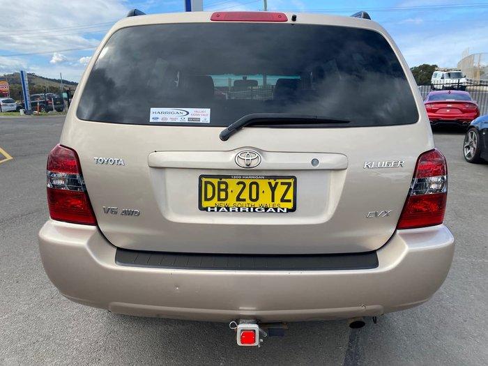 2004 Toyota Kluger CVX MCU28R AWD Gold