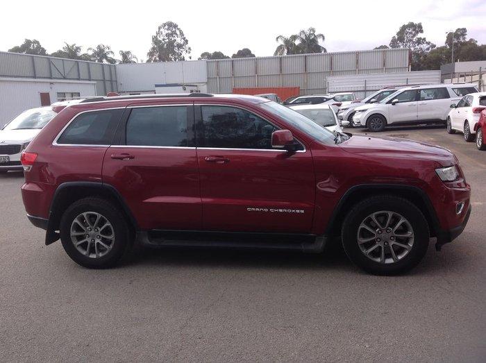 2014 Jeep Grand Cherokee Laredo WK MY14 4X4 Dual Range Red