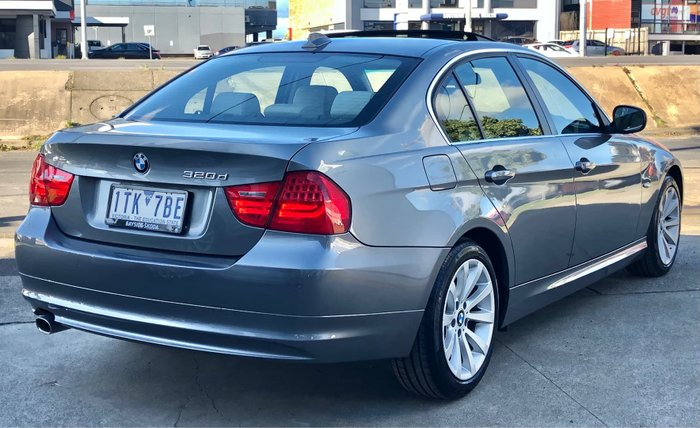 2010 BMW 3 Series 320d Lifestyle E90 MY10.5 Space Grey