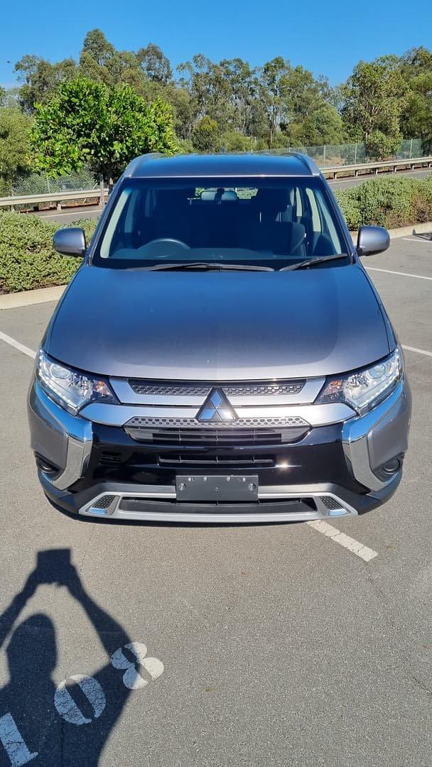 2019 Mitsubishi Outlander ES ZL MY19 AWD Titanium
