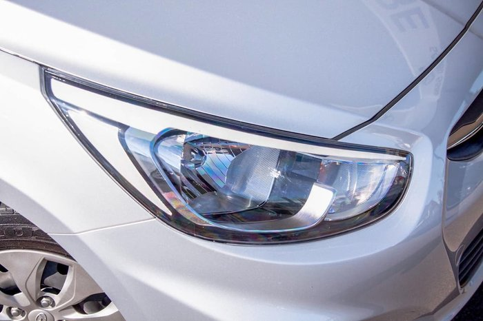 2016 Hyundai Accent Active RB4 MY16 SILVER